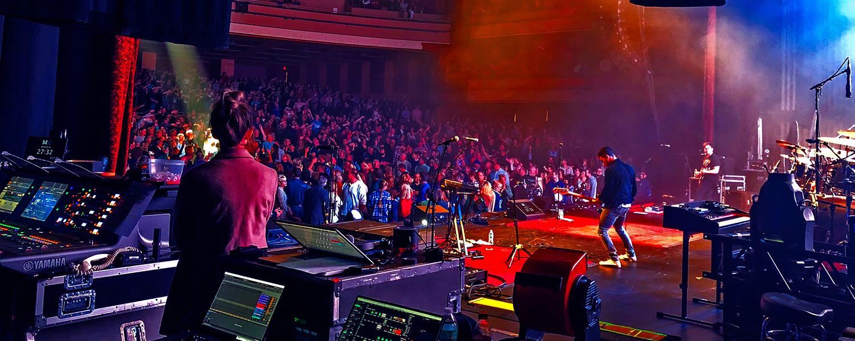 Concert Back Stage