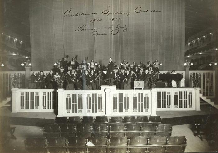 1913-14 Auditorium Symphony Orchestra