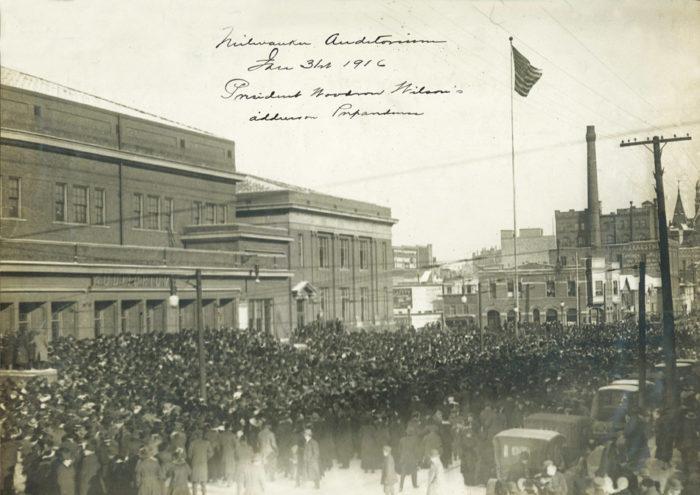 Pres. Woodrow Wilson speech, Jan. 31, 1916