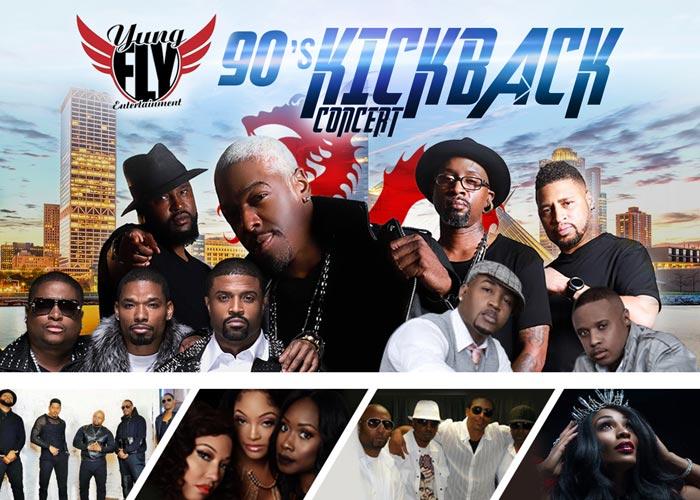 90S Kickback Concert starring Dru Hill, Next, H-Town, Silk, Shai, 702 & Adina Howard