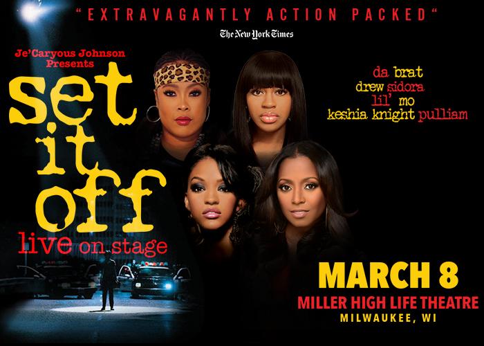 "Je'Caryous Johnson Presents ""Set It Off"""