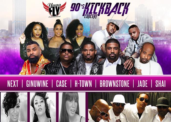 90's Kickback Concert